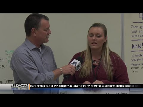 Belgrade Middle School awarded One Class At A Time check