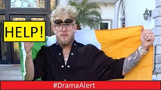 Irish Mob Threatens to Kidnap JAKE PAUL over Conor McGregor Diss! #DramaAlert