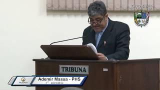 31ª Sessão Ordinária - Vereador Ademir Massa