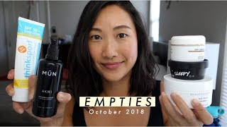 EMPTIES: OCTOBER 2018 | Jenn Rogers