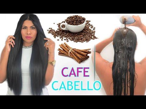 Crece Tu Cabello con CAFE 💙 Shampoo BOMBA DE CAFE y CANELA  Cabello Largo en Semanas 💙