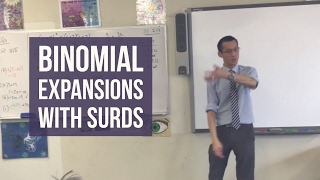 Binomial Expansions with Surds