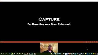 Capture - for Recording your band rehearsals
