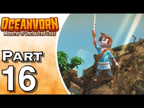 Let's Play Oceanhorn (Gameplay + Walkthrough) Part 16 - Coral Saber