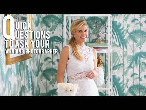 Important Questions to ask your Wedding Photographer | Stay Inspired with Jana Williams