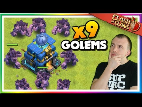 Mass Golem Attacks In LEGENDS LEAGUE | Clash Of Clans
