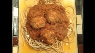 The Meat Lovers - Vegetarian Spaghetti Sauce