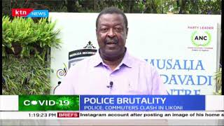 Mudavadi: Brutality that we have seen especially in Likoni is a reflection of failure to plan