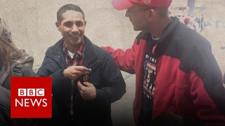 Why did Iraq War veteran give his medal to a stranger? BBC News