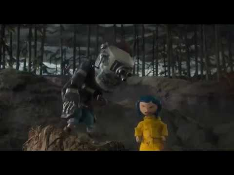 Coraline 2009 Coraline Meets Wybie He S Cat Scene Hd Youtube