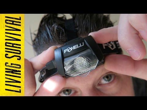 Foxelli USB Rechargeable Headlamp Review