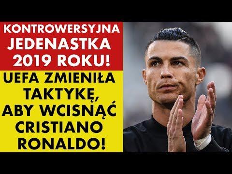 UEFA WCISNĘŁA CRISTIANO RONALDO DO JEDENASTKI 2019 ROKU!