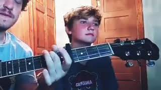 Bright Eyes - Mariana Trench - Deven Fisher & Kaden Fisher Cover