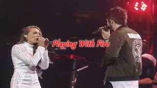 Playing with fire  Thomas Rhett ft  Danielle Bradbery Lyrics