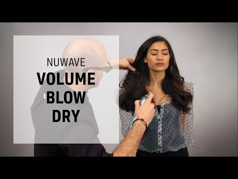 smooth-volume-curls:-blow-dry-technique-|-nuwave-|-goldwell-education-plus