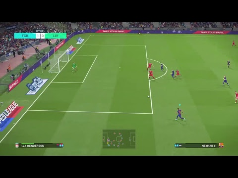 PES 18 Barcelona vs Liverpool Superstar Difficulty