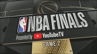 2018 NBA Finals Cavaliers vs Warriors Game 2 ESPN Intro