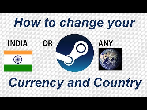 How to change steam country and currency india or any country |2018|update|Bangla