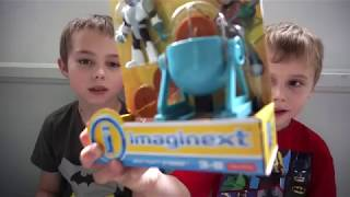 Unboxing the Imaginext Teen Titans Go! Meat Party Cyborg Toy