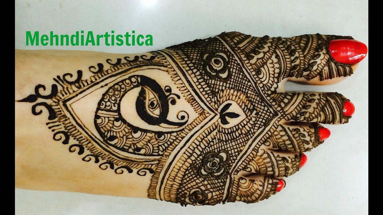 Beautiful Mehndi Decoration : Latest easy traditional peacock mehndi designsbeautiful