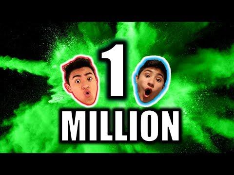 LIVE 🔴: 1 MILLION SUBSCRIBER REACTION!!😃☘️