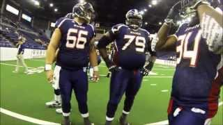 "GoPro Meets Arena Football in ""Reggie Cam"""