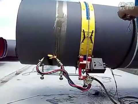 Переносная газокислородная резка труб
