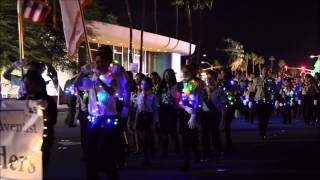 SDA Pathfinders @Palm Springs Festival of Lights Parade 2014