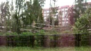 Ураган Лен.область.Последствия п.Сосново июль 2010(, 2010-07-30T17:02:36.000Z)