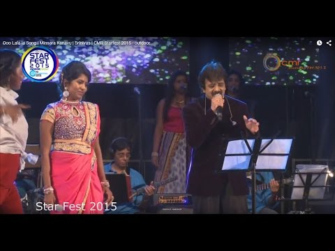 Ooo Lala la Song   Minsara Kanavu   Srinivas   CMR Starfest 2015 - outdoor