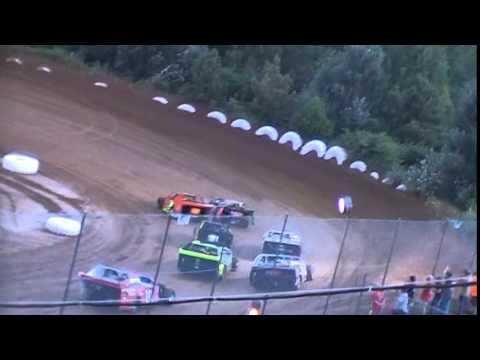 Crowley's Ridge Raceway USCS Modified Race 7/9/15 #21 Chris Sims Heat Race pt 2