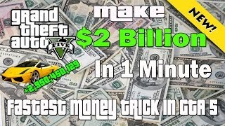 GTA V Money Maker 1k Every 1 Second GTA 5 Money Cheat