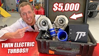Dyno Testing $5,000 Worth of ELECTRIC Turbos! Double the BOOST!!!