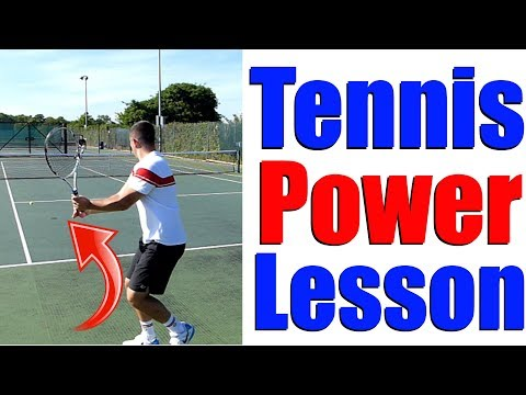 The Key To More Power In Tennis - Tennis Power Positions