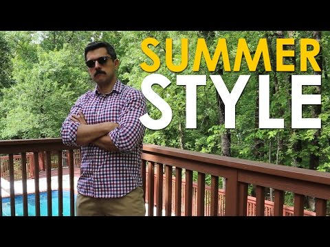 Easy Ways To Upgrade Your Casual Summer Style | The Art Of Manliness
