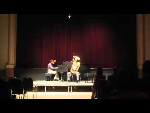 Andy Recital March 10, 2016 Concerto for Tuba/Frank Bencriscutto