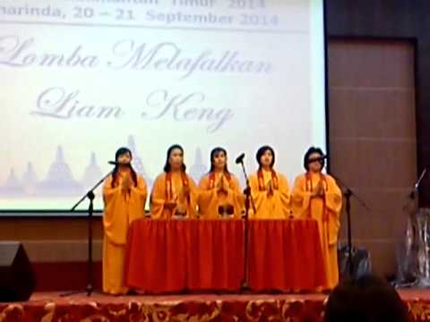 Liam Keng - Sutra Chanting competition by Tantrayana Temple Team