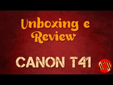 Unboxing e Review - Canon T4i (650D)
