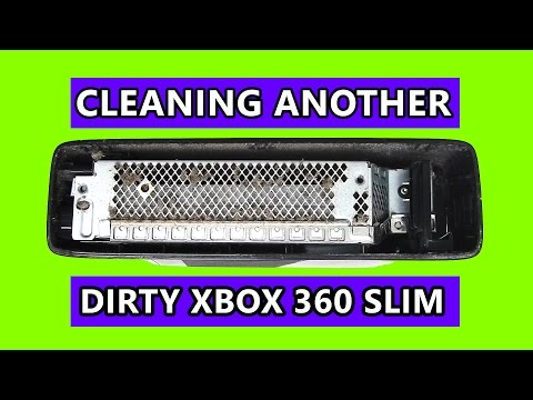 Cleaning another dirty Xbox 360 Slim