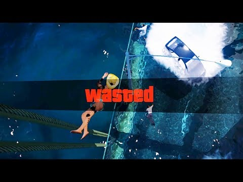 GTA 5 Epic Wasted Flooded Los Santos ep.01 (Funny Moments)