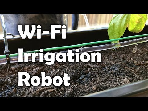 Wi-Fi Plant Watering System (with Particle Photon)
