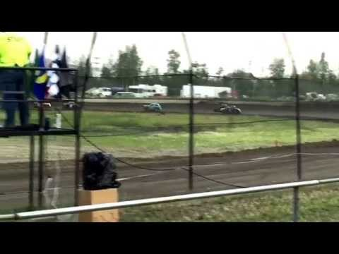 6-20-2015 Legends Feature, Alaska Dirt Shootout, Mitchell Raceway Fairbanks AK