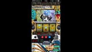 「パチスロ モンスターハンター 月下雷鳴」iPhoneアプリ動画