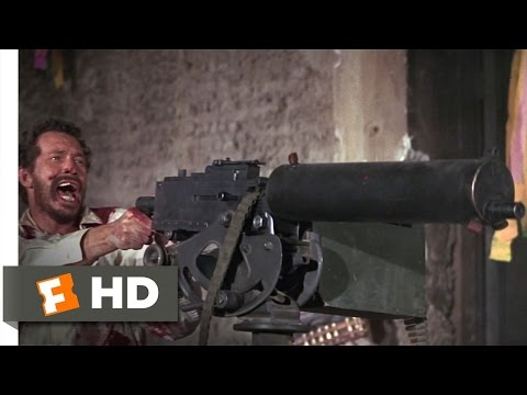 The Wild Bunch (9/10) Movie CLIP - Battle of Bloody Porch (1969) HD