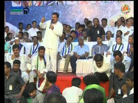 YSRCP leaders speech at Nellore party Meeting - 23rd Mar 2016