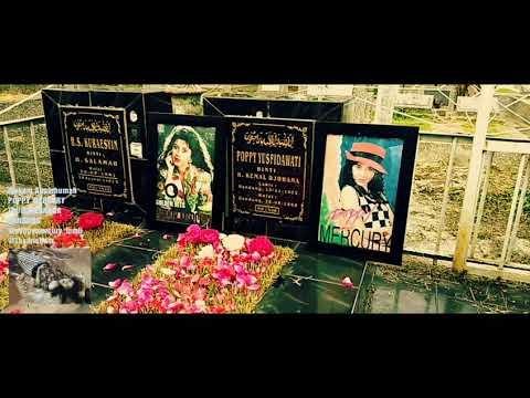 Makam Almarhumah Poppy Mercury - Bukan Aku Yang Kau Cinta [ Akustik ]