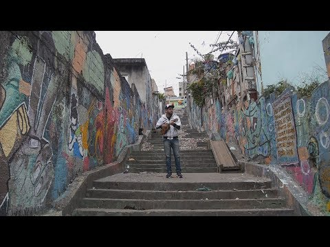 A favela in Sao Paulo using music to combat crime