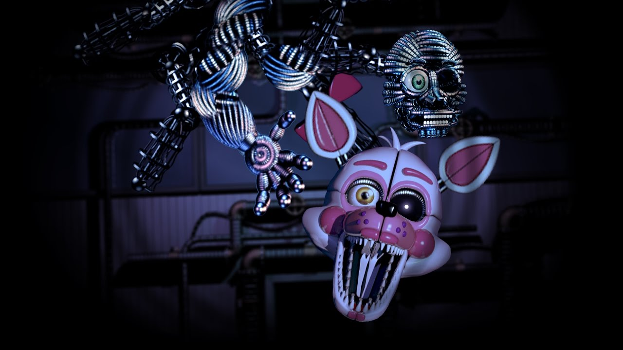 FUNTIME MANGLE JUMPSCARE IN FNAF SL?! - YouTube