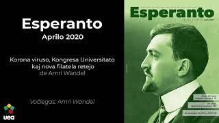 Voĉlegita Esperanto nr-o 4 2020 p. 82 – Korona viruso, kongresa universitato kaj filatela retejo