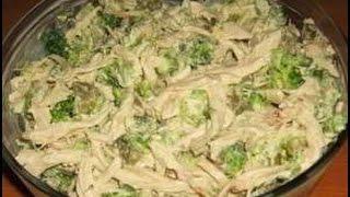 Салат 90-60-90. Простой и вкусный салат с курицей.